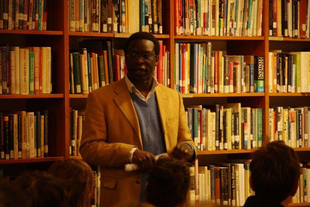 Michael Mwa Allimadi vom Ausländer/Migrationsrat