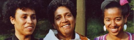 Kath. Oguntoye, Audre Lorde, May Ayim, 1984. Bild von Dagmar Schultz