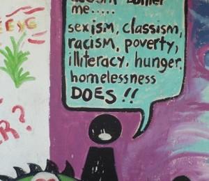 Wandgemälde Kingston, Jamaica. von Patrick Helber