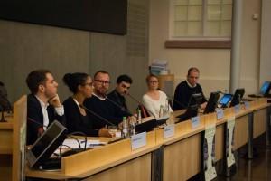 Podiumsdiskussion; Foto: Nanina Föhrs