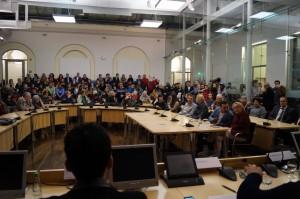 Blick ins Publikum, Foto: Alicia Lemmerz